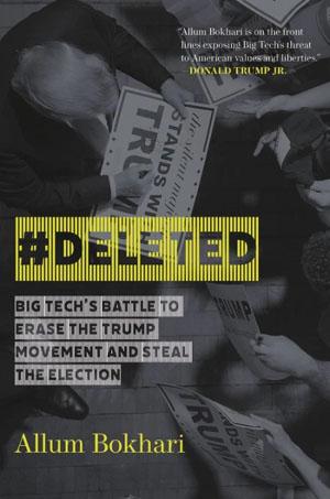 Book: Mega tech's 'hate speech algorithms' aim to 'steal' election, suppress popular posts