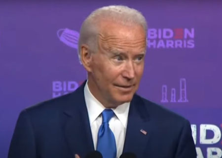 Livestream cut as Fox News reporter confronts Biden on covid warning claims