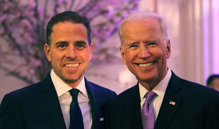 'Gift that keeps on giving': Russians trolled Joe Biden on son's corruption allegations