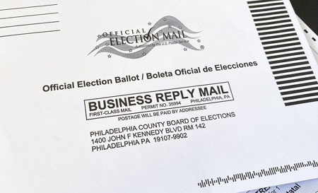 Military ballots cast for Trump found discarded in Pennsylvania