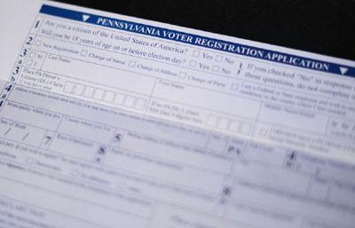 Trump drives GOP registration surge in Pennsylvania