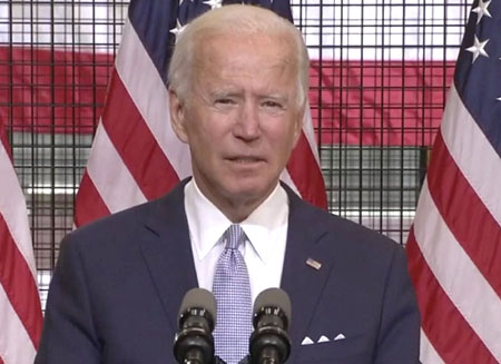 Biden: Vote for me and we'll call off the thugs