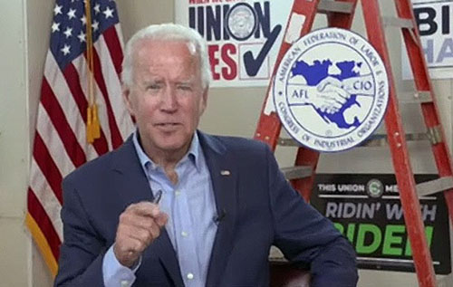 Biden threatens company executives who interfere with attempts to unionize