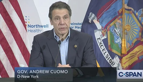 Cuomo threatens to close synagogues: 'Religious institutions have been a problem'