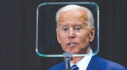 Big-box media shed final fig leaf of professional integrity to conjure Biden's invincibility