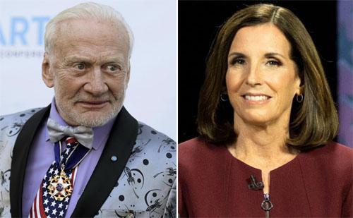 Buzz Aldrin endorses McSally over challenger, a former astronaut