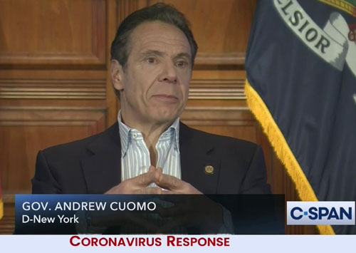 'Never happened': Cuomo continues to deny blame for New York nursing home deaths