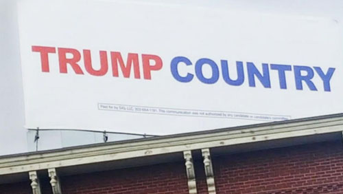 Free speech 'thrown out the window' in New Hampshire as Trump sign is removed