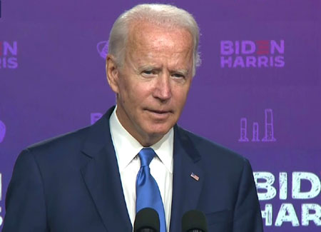 Biden speaks: 'Most extensive and inclusive voter fraud organization in the history of American politics'