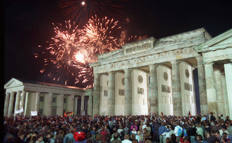 30 years after German reunification, 'Danke to the American people'