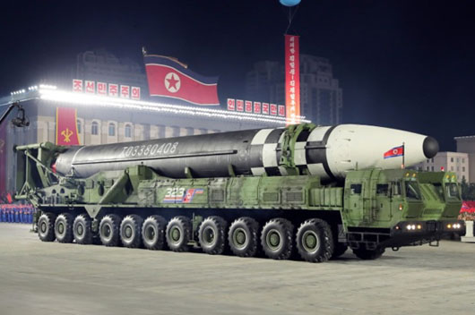 China assists as North Korea rolls out new monster ICBM