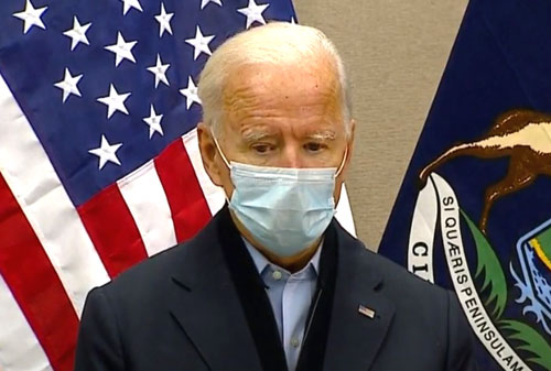 'Don't vote for me,' Biden tells 56 percent of Americans who say they're better off