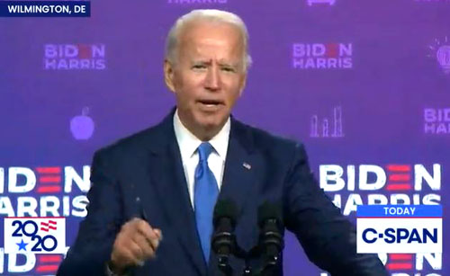 Biden says he'll comment on court-packing — after the election