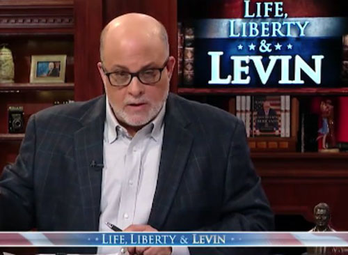 Nov. 3 'coup'? Mark Levin publicly answers query from NY Times reporter