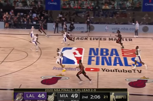 Finals of politicized NBA bomb with viewers