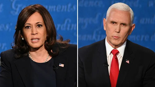 Fly didn't bug the VP, but Pence certainly rattled nasty Kamala
