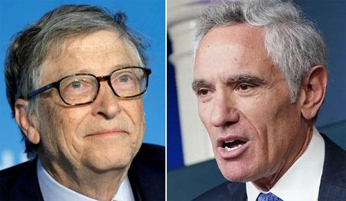 Software guy Bill Gates calls Dr. Scott Atlas 'pseudo-expert' on viruses