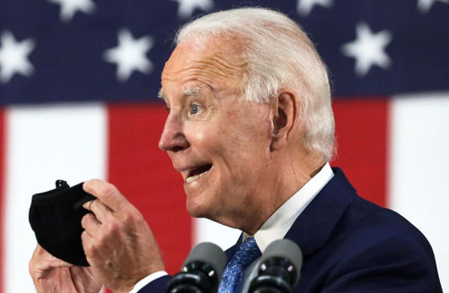 Biden would mandate mask-wearing on interstate highways for drivers in their vehicles