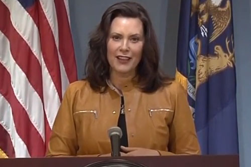 Michigan's Whitmer vows to continue lockdown orders after court struck them down