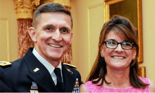 'Never be stopped by fear': Michael Flynn's tribute to God, family, patriots and Sidney Powell