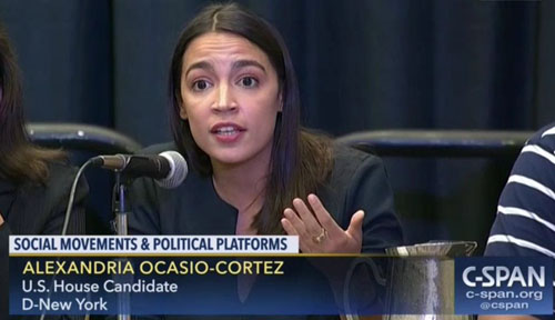 Message to Rep. Ocasio-Cortez from a Trump 'sycophant': Please put me on top of your 'list'