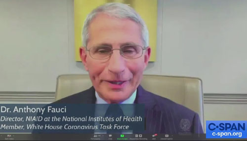 Suddenly, Dr. Fauci is upbeat: Covid won't be a pandemic 'much longer'