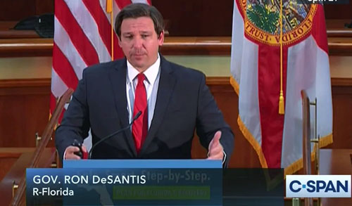 Voters for Democrat governors take note: Florida's DeSantis will not lock down
