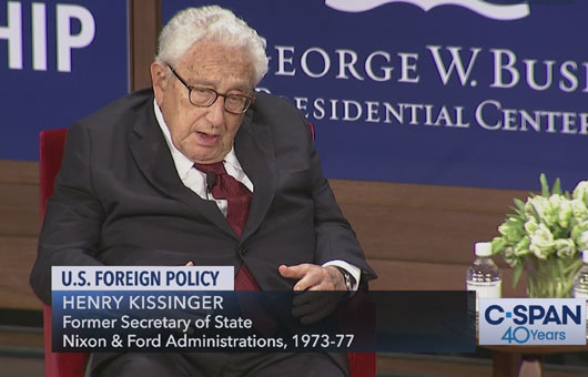 White House maintains tough China policy; Kissinger seeks return to appeasement