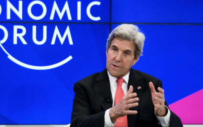 John Kerry, at World Economic Forum, calls for 'Great Reset' to stop global Trumpism