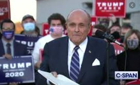 Giuliani enters the fray: 'Do you think we are stupid?'