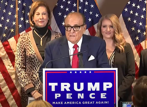 Giuliani blasts media: 'More than double' number of votes to overturn election results