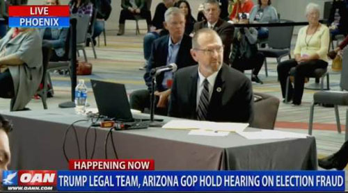 Arizona hearing witness: Dominion systems were connected to Internet during election