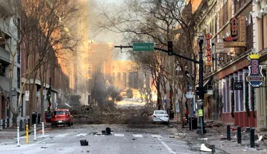 Nashville blast exposes vulnerability of communications infrastructure
