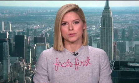 'Facts' CNN-style: It is a fact that Kate Bolduan's sweater was a bold fashion statement