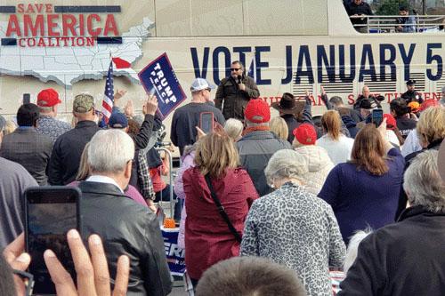 Cruz demands jail time for vote fraud; Trump turns up heat in Georgia