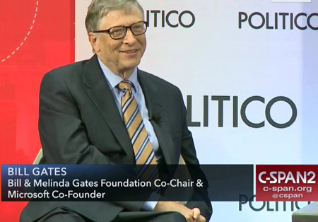 Latest from the vaccinator: Bill Gates pushes plan to shield Earth from the Sun