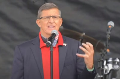 Michael Flynn at D.C. rally: 'The entire country, the entire world is watching'