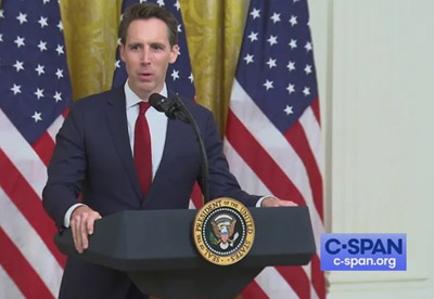 Sen. Hawley commits to challenging Electoral College results