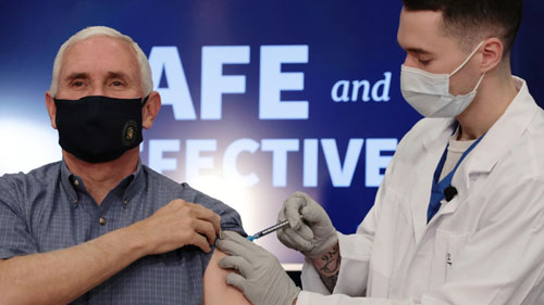 Health update: Masks failed, Pence evens score on public vaccination fails