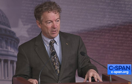 Rand Paul: 'Nobody intended' governors to be 'czars or dictators in charge of the economy'