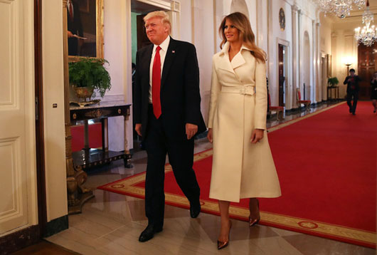 GREATEST HITS: Melania Trump demanded White House be 'completely exorcised' before moving in — pastor