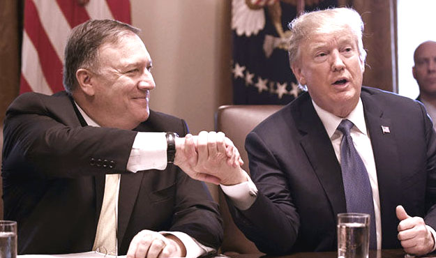 Pompeo: Trump defectors 'are not listening to the American people, not remotely'