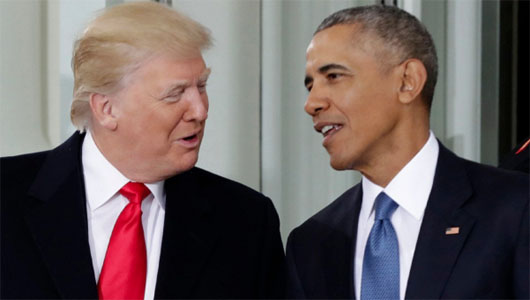 Obama hailed as more 'presidential'; Undermined successor secretly, Washington-style