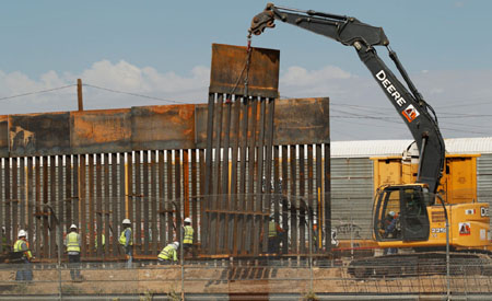 5,000 construction workers lose jobs as Biden shuts down wall construction