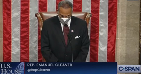 House Democrat actually ended prayer Sunday with 'amen' and 'awoman'