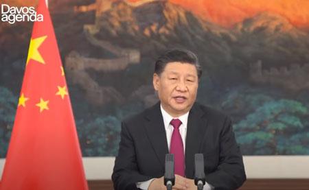 Unashamed at Davos: Xi hails 'open world economy', signals Biden to toe line