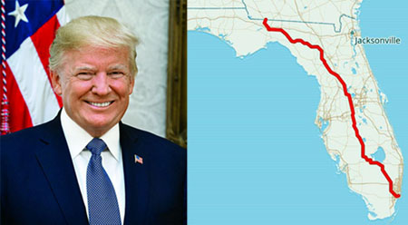 Donald J. Trump Highway: For MAGA fans, Florida is new capital