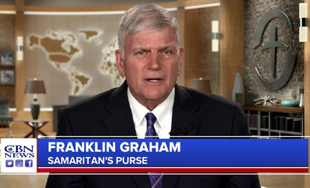 Franklin Graham warns pro-abortion Swamp: 'God's judgment is coming'