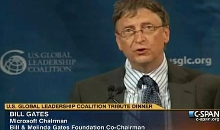 Columnist: Bill Gates' messianic plan to control the world