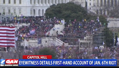 First-hand account from Jan. 6 Capitol siege destroys corporate media narrative